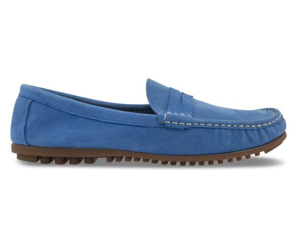 LEATHER AND SOLES POWDER BLUE AMALIA