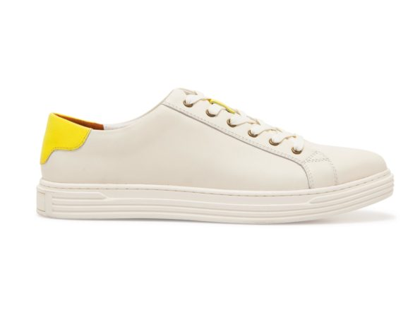 PHINEAS NEON YELLOW SNEAKERS