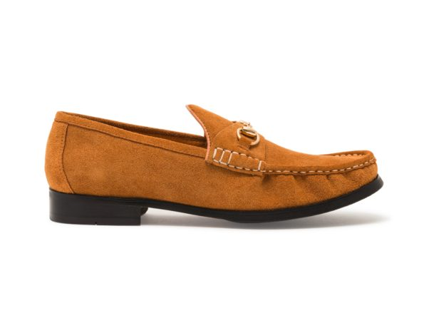 CLASSIC COGNAC CHAIN LOAFER